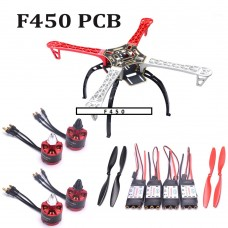 F450  Quadcopter Frame Kit (with landing gear)
